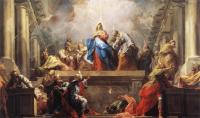 Jean II Restout: Pentecost