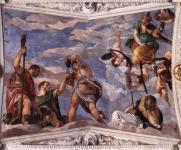 Paolo Veronese: Bacchus, Vertumnus, and Saturn