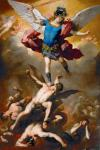 Luca Giordano:Archangel Michael Hurls the Rebellious Angels into the Abyss