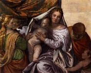 Paolo Veronese: Holy Family with Saint Catherine and the Infant Saint John
