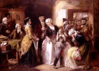 Thomas Falcon Marshall: The arrest of Louis XVI and his family at the house of the registrar of passports, at Varennes in June, 1791