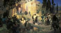 Vasily Polenov: Jesus and the Woman Taken in Adultery
