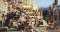 Henryk Siemiradzki: Nero\'s Torches (Christian Candlesticks)