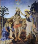 Leonardo da Vinci: The Baptism of Christ