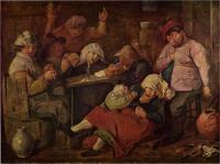 Adriaen-Brouwer%3A-Inn-with-Drunken-Peasants