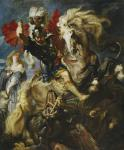 Peter Paul Rubens: Saint George and the Dragon
