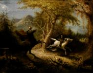 John Quidor: The Headless Horseman Pursuing Ichabod Crane