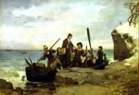 Henry A. Bacon: The Landing of the Pilgrims