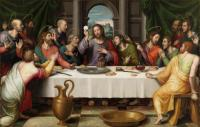 The Last Supper: Juan de Juanes
