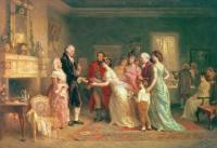 Jean Leon Gerome Ferris: Washington's Last Birthday 1798