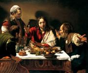 Michelangelo Merisi da Caravaggio: The Supper at Emmaus