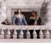 Paolo Veronese: Figures behind the Parapet
