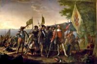 John Vanderlyn: Landing of Columbus
