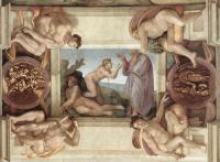 Michelangelo Buonarroti: The Creation of Eve