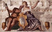 Paolo Veronese: Prudence and Manly Virtue