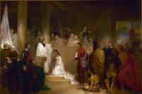 John Gadsby Chapman: The Baptism of Pocahontas