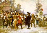 Jean Leon Gerome Ferris: The Landing of William Penn