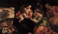 Paolo Veronese: The Mystic Marriage of Saint Catherine 1555
