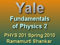 This lecture of Ramamurti Shankar's Spring 2010 Fundamentals of Physics 2 course covers resistance.