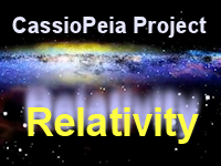 This physics video is chapter 2 in the relativity video series from the Cassiopeia project.