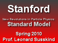 This is a lecture from Professor Leonard Susskind's Spring 2010 Standard Model course at Stanford University.