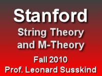 This is a lecture from Professor Leonard Susskind's Fall 2010 String Theory and M-Theory course at Stanford University.